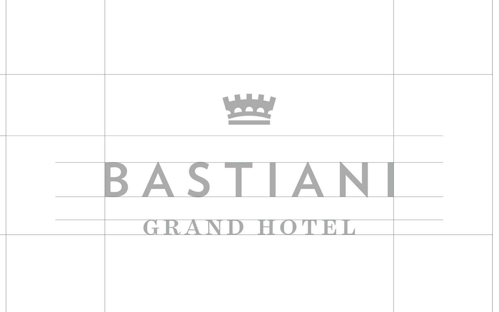 New logo for Grand Hotel Bastiani